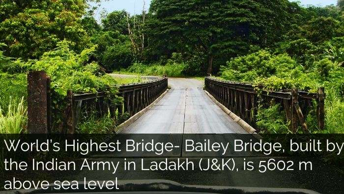 Worlds highest bridge