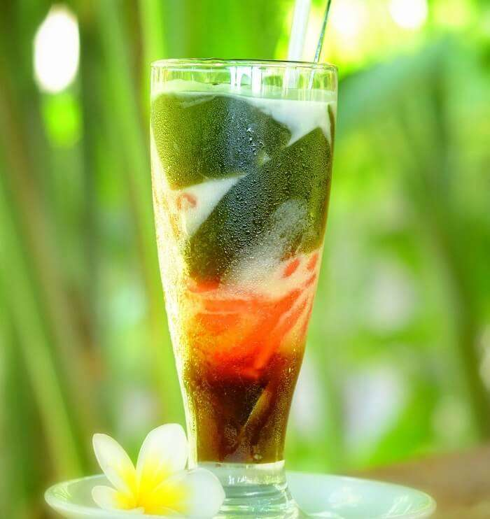 Iced Daluman serves as a quintessential representative of the traditional drinks of Bali