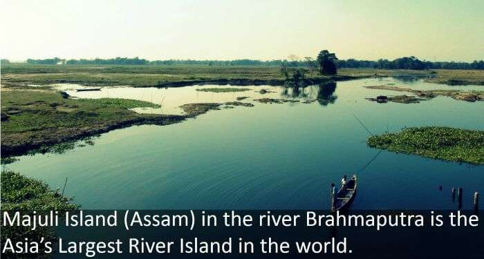 Island on Majuli river