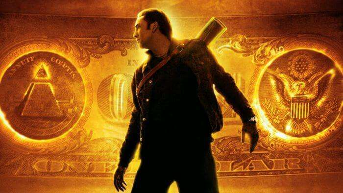 Nicholas Cage plays the famous Benjamin Gates in the movie series National Treasure