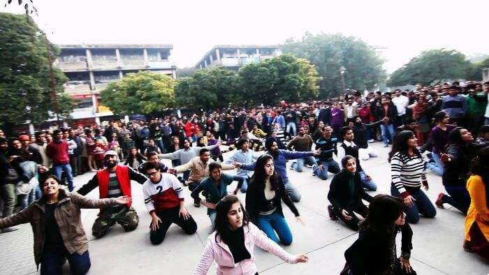 Happy people in Chandigarh