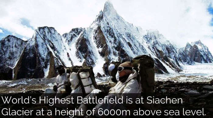 highest battle ground of the world