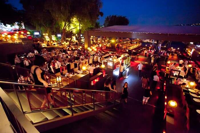 One of the best nightclubs in Istanbul-Sortie- and its exquisite restaurants