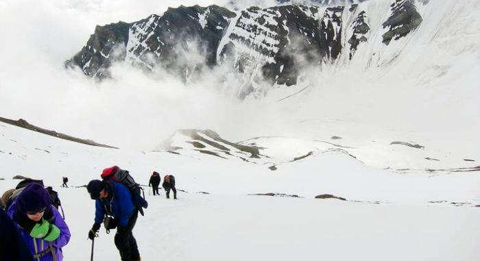 Stok Kangri Trek Route