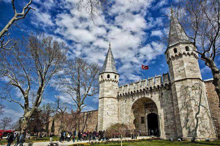 Topkapi Palace is one of the most famous historical monuments of Turkey