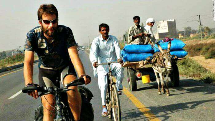 Cycling across the globe- how to travel around the world for free