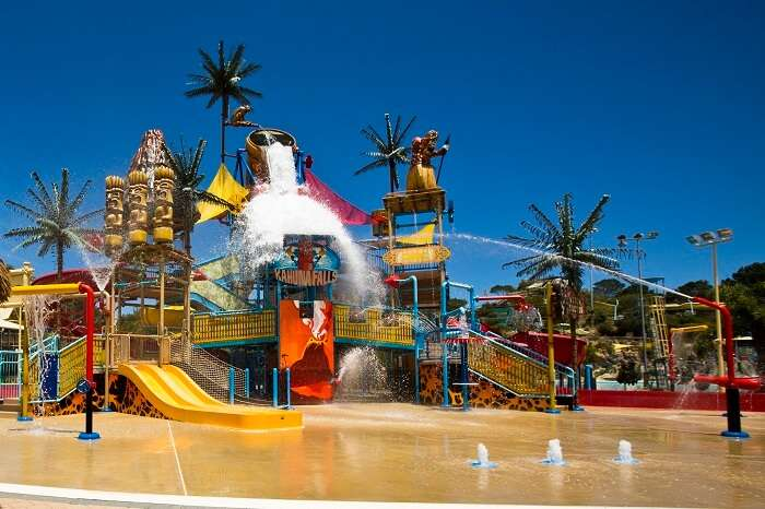 Water rides at Adventure World are perfect fun activities in Perth for kids