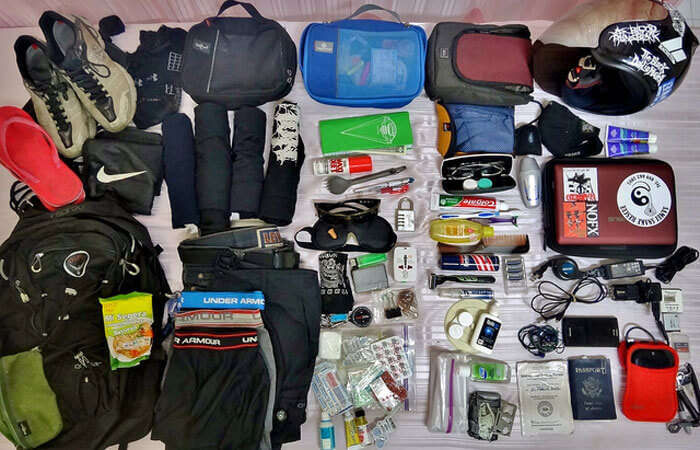 Backpackers are usually intensely organized packers