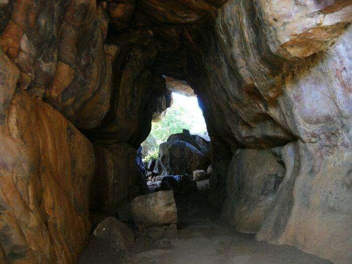 Bhimbetka rock shelters in Madhya Pradesh