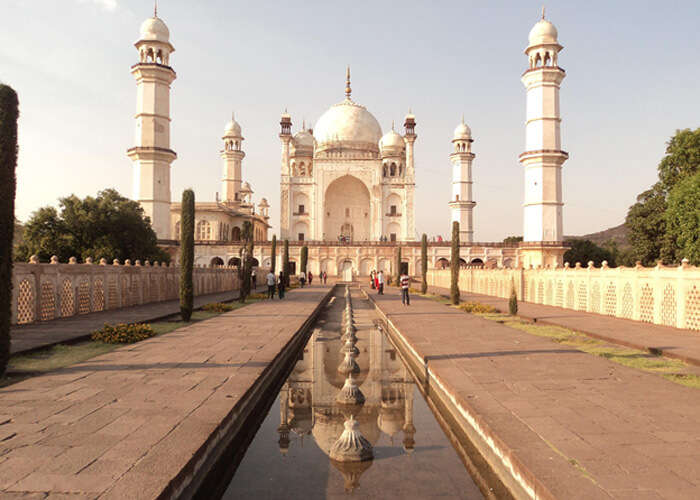 The beautiful Bibi ka Maqbara in Aurangabad