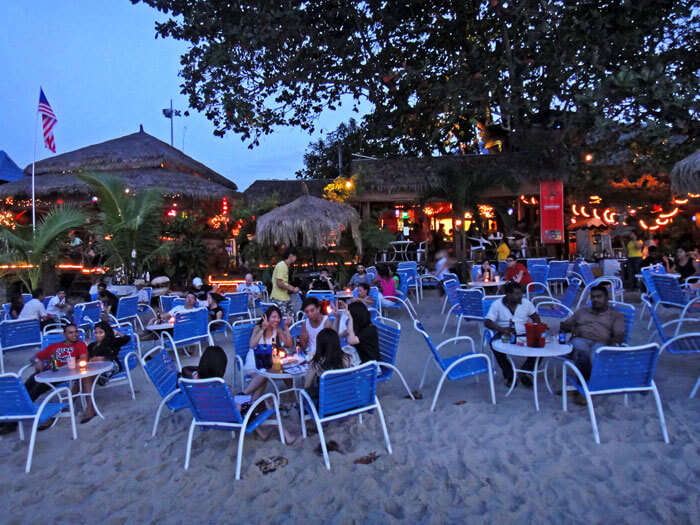 Dawn at Bora Bora in Batu Ferringhi – a beach bar in Malaysian nightlife