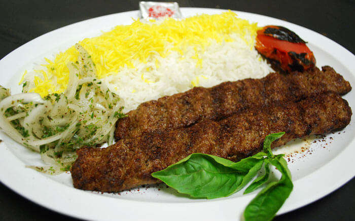 A delight for Kebab lovers