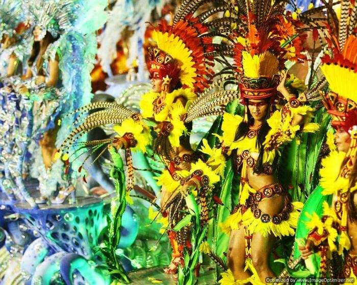Dance performances at one of the best festivals of Goa - the Carnival