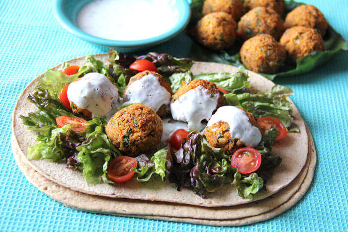 No one can eat just one! Falafel is a heavenly experience altogether.