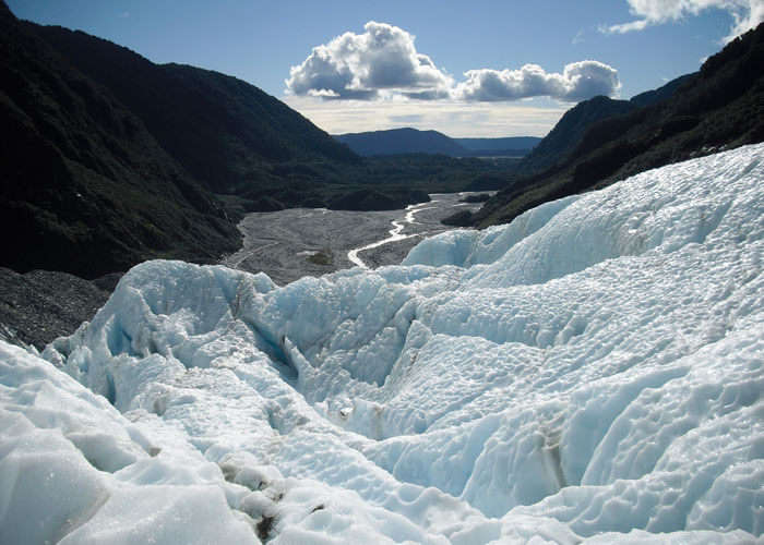 The frozen beauty of Franz Josef Glacier