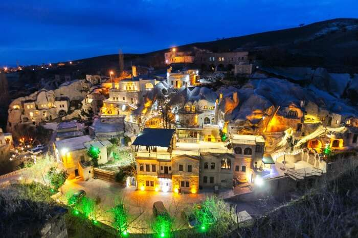Experience the old-world charm in Gamirasu Cave Hotel at Turkey