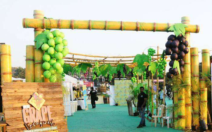 The Grape Escapade of one of the most unique wine tasting festivals in Goa & in India
