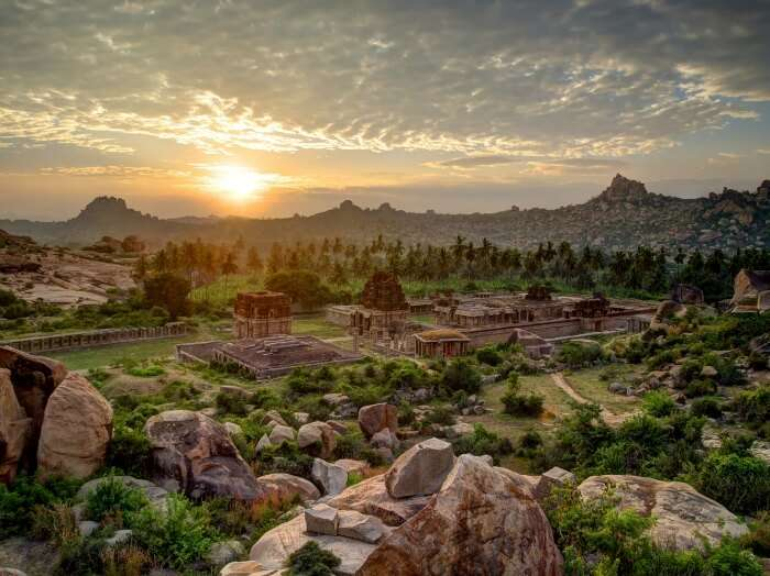 Hampi – A place with ruins and temples for backpacking in India