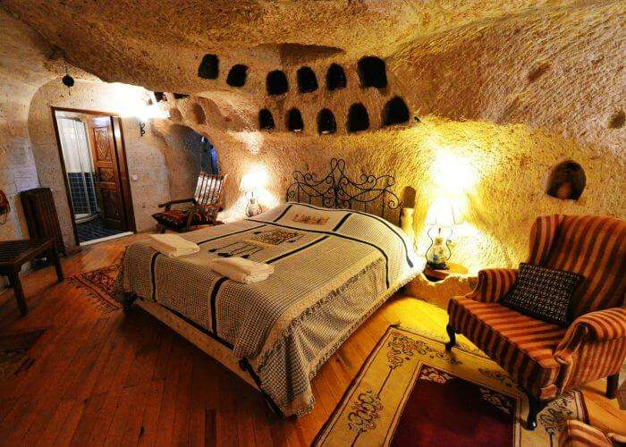 Holiday Cave Hotel – Best known as Flintstones Cave Resort in Turkey