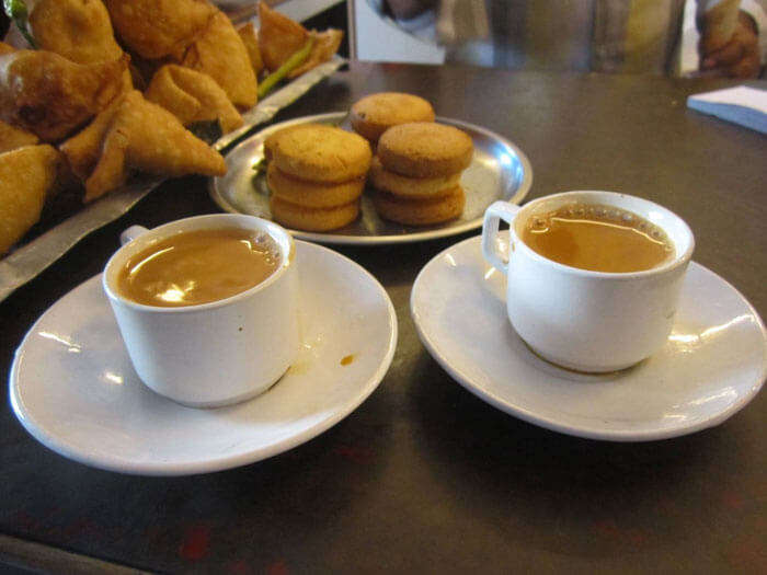 irani chai and osmania biscuits