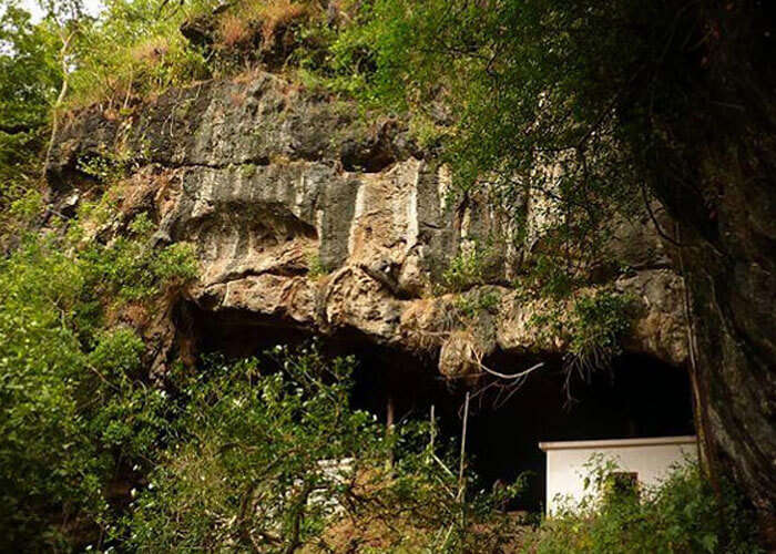 Kavala caves are located 25 km from Dandeli