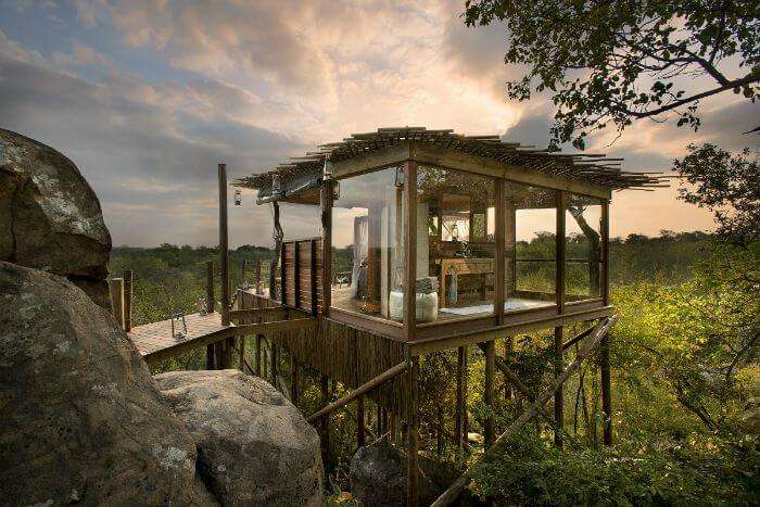 The woodsy Kingston Treehouse in South Africa