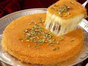 Creamy, aromatic and a great flavour, Knafeh your gate pass to heaven.