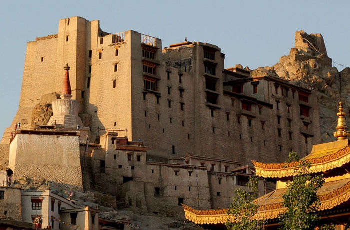 Bodies of Mongolian soldiers were entombed under the temple of Leh palace