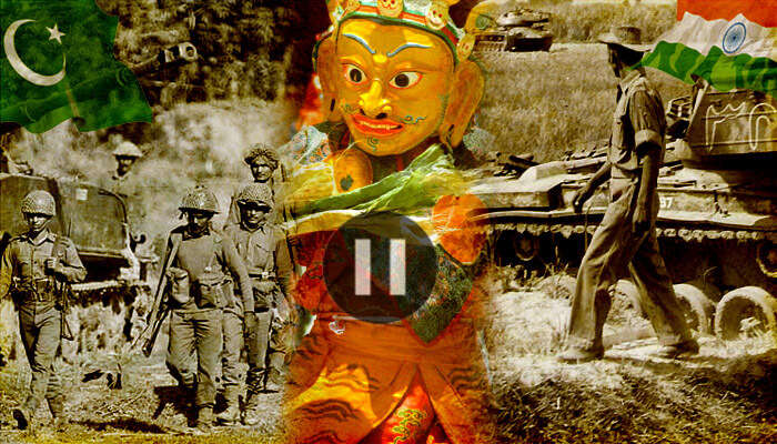 Losar fest of 1971 paused the Indo-Pak war