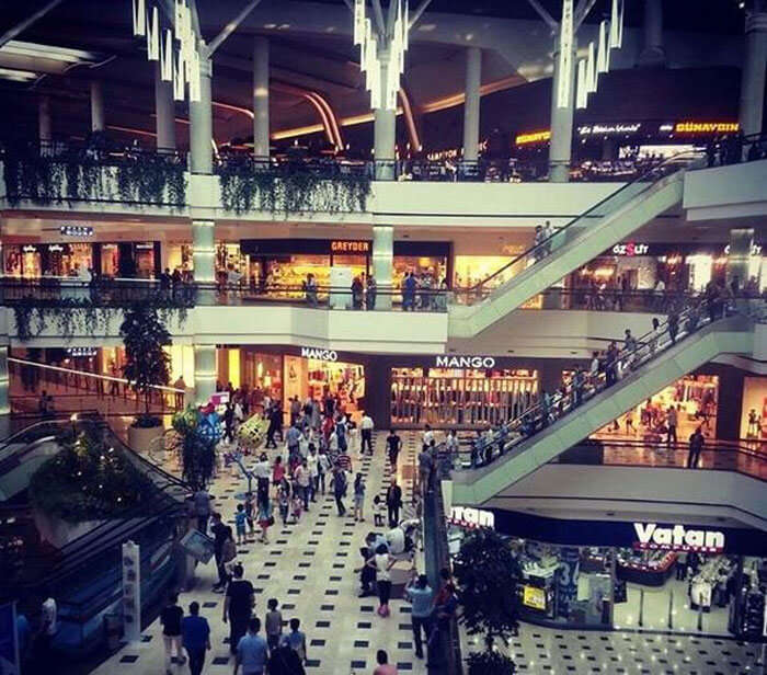Mall of Istanbul offers wide variety of top brands for high-end shopping in Istanbul