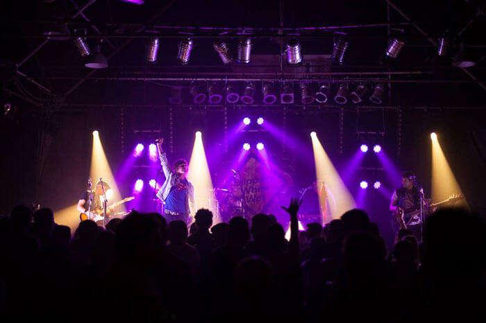 A live event at Metropolis Fremantle