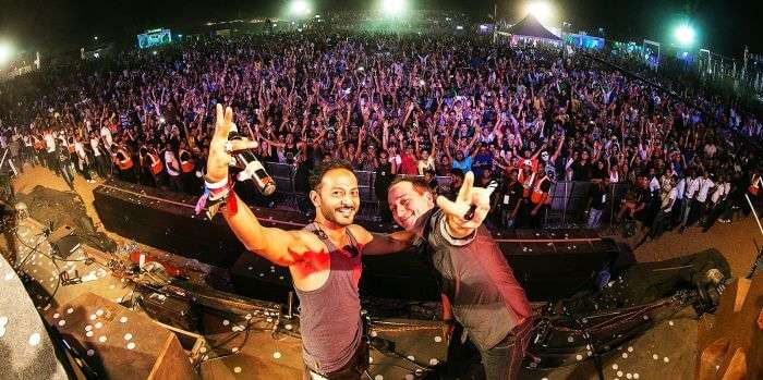 Nikhil Chinnappa at Vh1 Supersonic - one of the most talked about music festivals in Goa