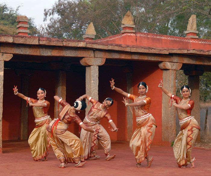 Dancers at Nrityagram, the modern Gurukul