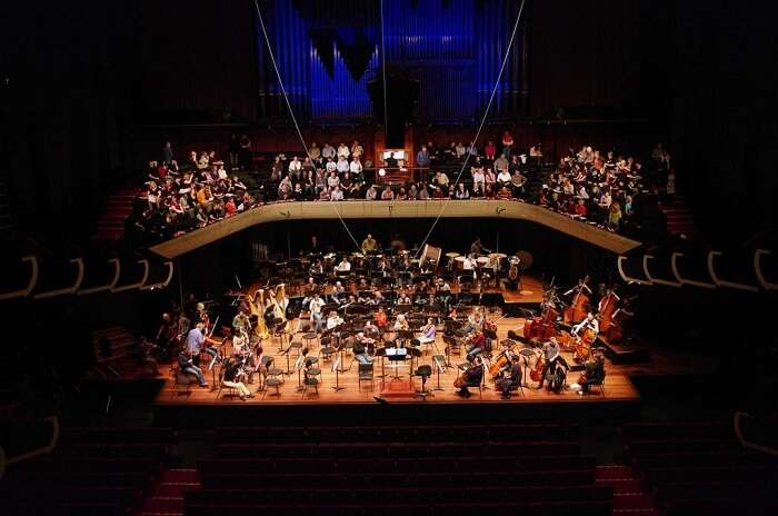 View of the Perth Concert Hall