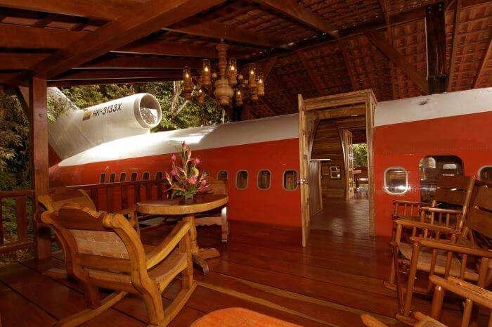 Plane Hotel in Costa Rica – A plane converted into a hotel