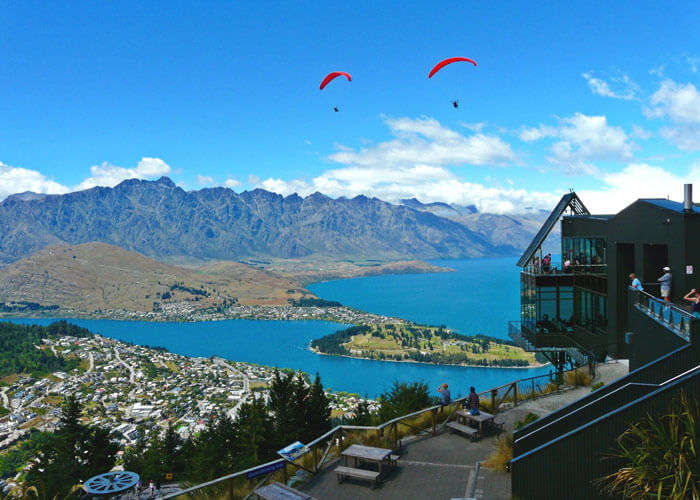 The picture perfect view of Queenstown – adventure capital of New Zealand