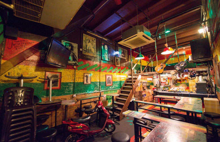 Reggae Mansion is best for casual music and chilled-out feel of nightlife of Malaysia