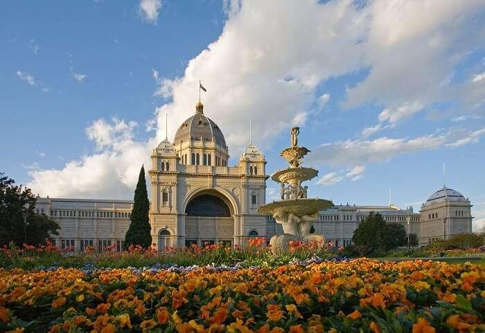 The gorgeous Royal Exhibition Building