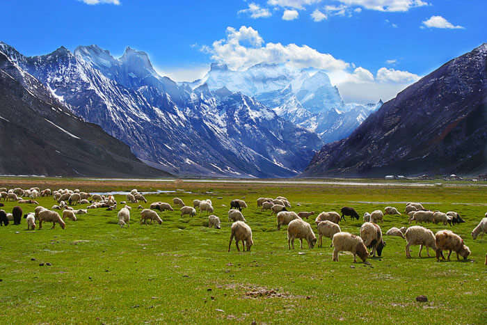 The picturesque pass of seven sisters trek in Himachal Pradesh