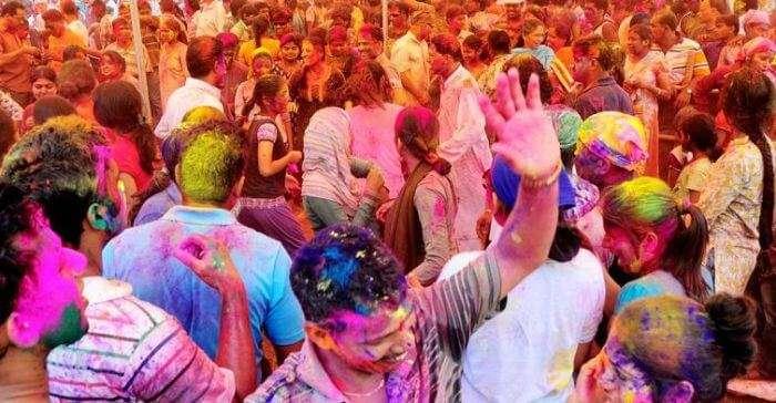 Festivals of colors Goa