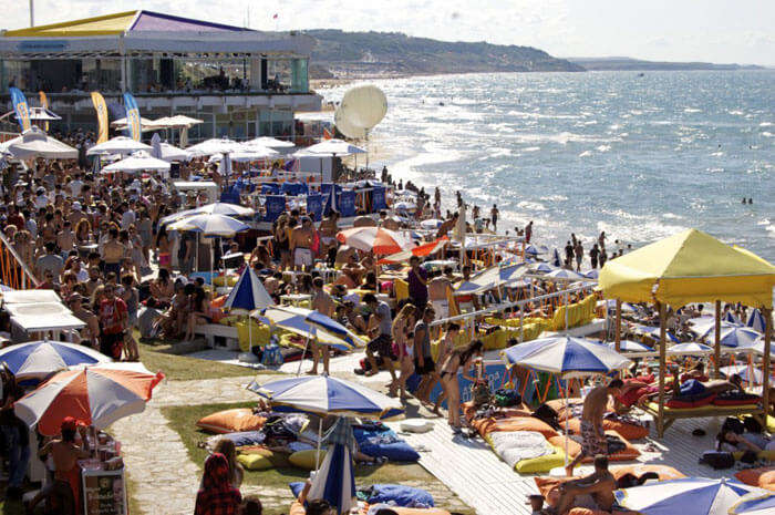 Solar Beach is one of key Istanbul tourist attractions