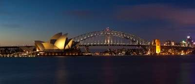 Sydney tourist attractions include Sydney Harbor and its monuments – the Opera House and Harbour Bridge