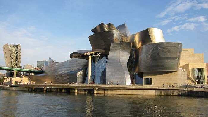 The Guggenheim Museum is one of the best places to go in Spain