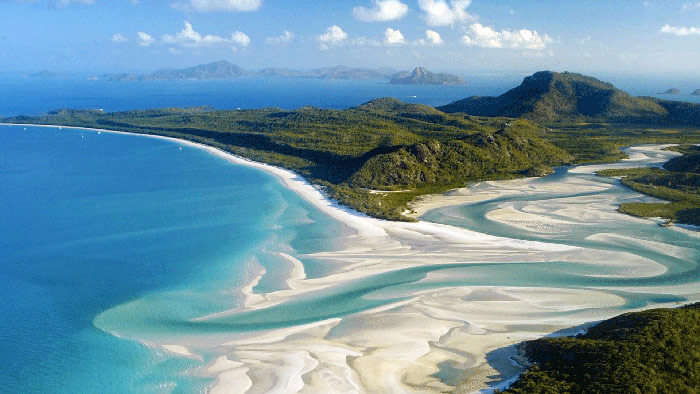 Whitsunday Islands are certainly among the best Australian honeymoon destinations