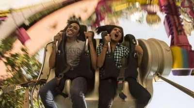 Thrill ride at Wonder La, Bangalore