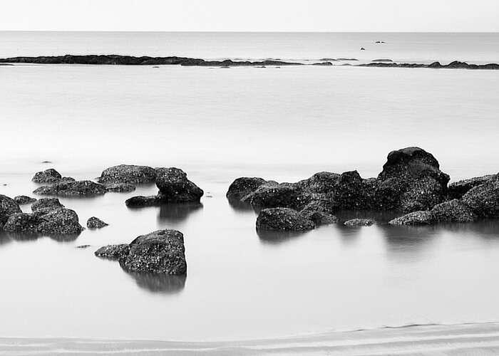 The calm shores of the Alibaug beach