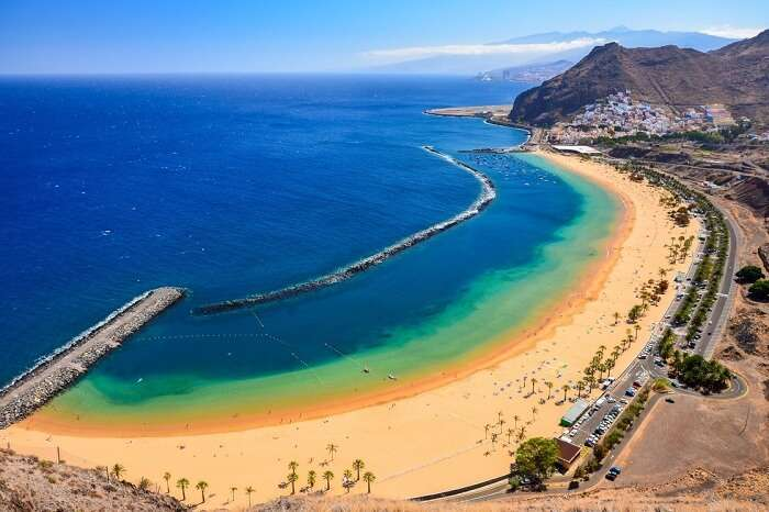The stunning beaches of the Canary Islands are must visit places in Spain