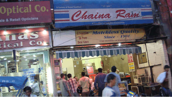 Chaina Ram at Fathpuri Chowk is the pioneer in Karachi Halwa