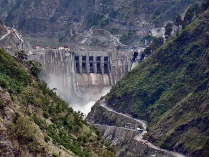 Baglihar Dam is a major dam in the J&K