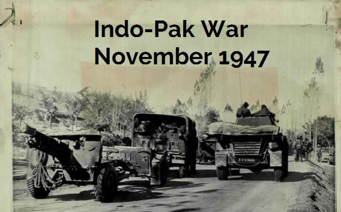 An original image from the Indo-Pak war of 1947